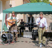 The Mangledwurzels at 1st Hotwells Street Fair, Bristol (20 Aug 2005)