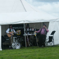 The Mangledwurzels at Mid-Somerset Show at Shepton Mallet Showground (17 August 2008)