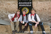 The Manglewurzels 2017 photo-shoot at Newton Farm Shop, Bath (10th April 2017)