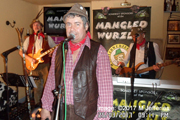 Hedge Cutter and the boys at The Kings Head, Coleford (25th March 2017)