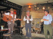 The Mangledwurzels at Fox & Badger, Wellow (17 July 2005)